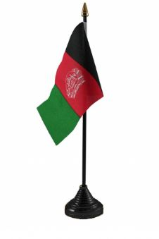 AFGHANISTAN - Table Flag
